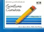 Ejercicios y actividades de escritura cursiva. Preescolar 1.