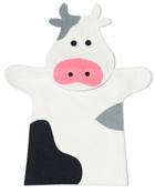 T�tere de mano Vaca