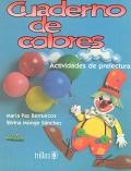 Cuaderno de colores. Actividades de prelectura.