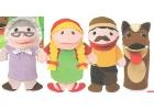 Marionetas cuento La caperucita roja