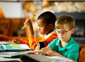 Alteraciones del aprendizaje escolar cuando la causa se refiere a la sensopercepción o a la psicomotricidad