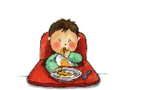 comer solo con los dedos