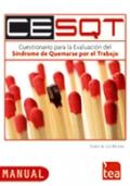 CESQT, Cuestionario para la Evaluaci�n del S�ndrome de Quemarse por el Trabajo. ( Juego completo )
