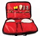 Conjunto de instrumentos de percusión. Bolsa pequeña