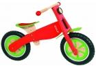 Bicicleta de madera sin pedales