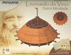 Carro blindado. Las creaciones del genio Leonardo da Vinci