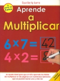 Aprende a multiplicar. Escribe y borra.