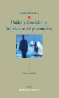 Unidad y diversidad de las pr�cticas del psicoanalista.
