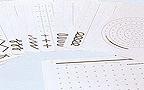 L�minas de iniciaci�n al trazo (caligrafia 1)