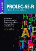 PROLEC-SE-R. Screening - Batería para la Evaluación de los Procesos Lectores en Secundaria y Bachillerato - Revisada (Juego screening)