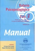 Bater�a psicopedag�gica EOS-3. ( Manual + Cuadernillo ).