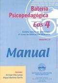 Batería psicopedagógica EOS-4. ( Manual + Cuadernillo ).