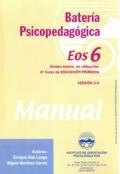 Bater�a psicopedag�gica EOS-6. ( Manual + Cuadernillo ).