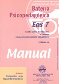 Bater�a psicopedag�gica EOS-7. ( Manual + Cuadernillo ).