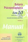Bater�a psicopedag�gica EOS-10. ( Manual + Cuadernillo ).