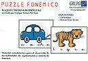P�zzle fon�mico. Material autodid�ctico para el desarrollo de las habilidades de segmentaci�n y s�ntesis de fonemas.