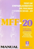 MFF-20, Test de emparejamiento de figuras conocidas.