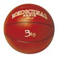 Balón medicinal 3 Kg rojo (con bote)