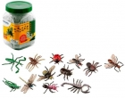 Insectos. Bote con 12 figuras.