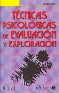 T�cnicas psicol�gicas de evaluaci�n y exploraci�n