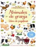 Animales de granja. Libro de pegatinas. Granja los Manzanos.