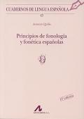 Principios de fonolog�a y fon�tica espa�olas