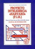 Proyecto inteligencia  Harvard ( P.I.H ). Manual de informaci�n.