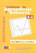 Cuaderno de aprendizaje y refuerzo 2.4. Grficas y tablas. Secundaria.