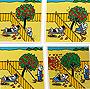 Don Diego. 40 series de 4 ilustraciones.