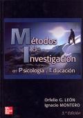 M�todos de investigaci�n en Psicolog�a y educaci�n.