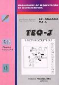 TEO- 3 ( - / rr- r / - ch - y - z - ( ce, ci ) g - j). Habilidades de segmentaci�n en lectoescritura.