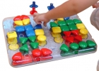 Malet�n cart�n Superpegs (64 piezas)