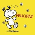 Felicidad. Snoopy