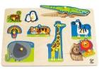 Puzzle de animales salvajes (9 piezas)