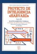 Proyecto de inteligencia Harvard. Serie III. Razonamiento verbal. Manual de apoyo para el alumno E.S.O ( 12 - 16 a�os ).