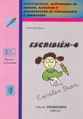 ESCRIBIÉN-4. Mediterráneo. Actividades de repaso, refuerzo y recuperación de vocabulario y redacción.