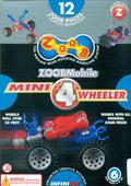 Juego de construcción mini 4 ruedas (Zoob) 12 piezas