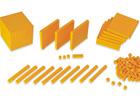 Base 10 con estuche (121 piezas)