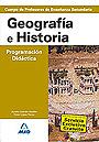 Geograf�a e Historia. Programaci�n y unidad did�ctica. Cuerpo de Profesores de Ense�anza Secundaria.