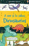 Dinosaurios. A ver si lo sabes