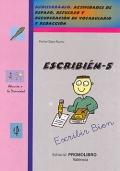 ESCRIBI�N-5. Mediterr�neo. Actividades de repaso, refuerzo y recuperaci�n de vocabulario y redacci�n.