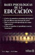 Bases psicol�gicas de la educaci�n.