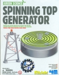 Eco. Generador giratorio (Spinning top generator).