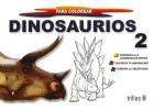 Dinosaurios 2 para colorear. Gigantes para colorear