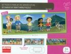 Familias del mundo actual - Malet�n con 4 puzzles