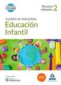 Educaci�n infantil. Temario volumen 2. Cuerpo de maestros.