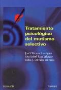 Tratamiento psicol�gico del mutismo selectivo