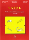 VAVEL Superior , Prueba de Valoraci�n del Vocabulario. De 9 a 16 a�os.