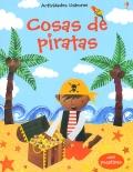 Cosas de piratas. Con pegatinas.