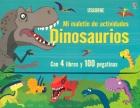 Mi malet�n de actividades. Dinosaurios. Con 4 libros y 100 pegatinas.